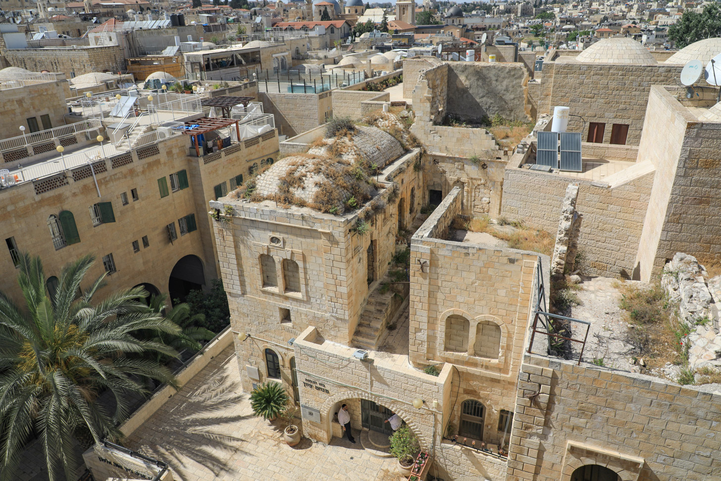 Oude binnenstad van Jeruzalem