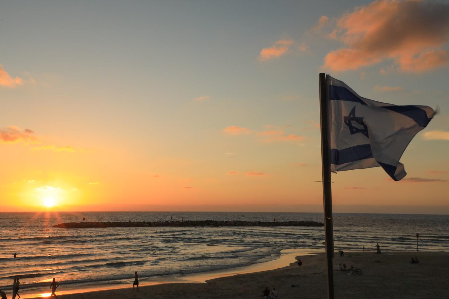 Zonneschijn in Israël